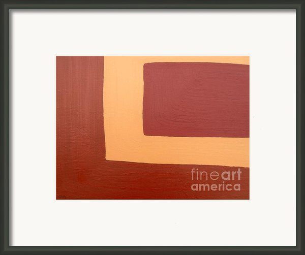 Abstract 163 Framed Print By Patrick J Murphy