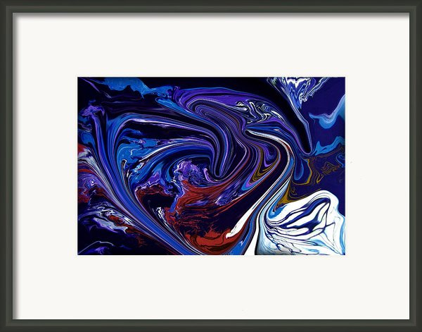 Abstract 170 Framed Print By J D Owen