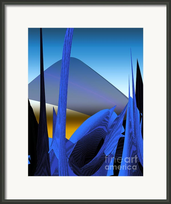Abstract 200 Framed Print By Gerlinde Keating - Keating Associates Inc