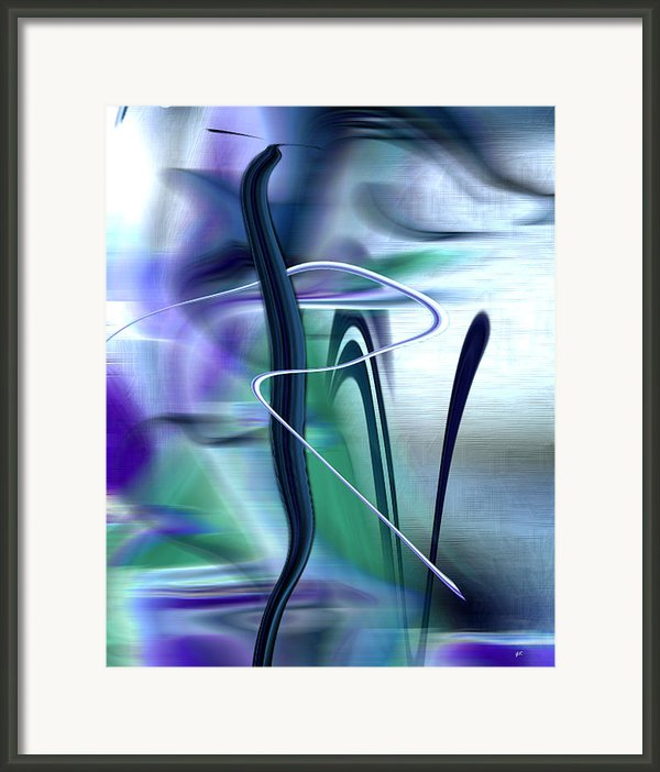 Abstract 300 Framed Print By Gerlinde Keating - Keating Associates Inc