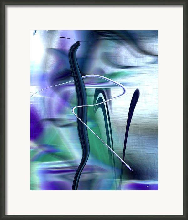 Abstract 300 Framed Print By Gerlinde Keating - Keating Associates Inc