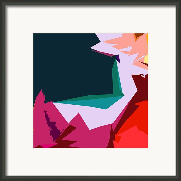 Abstract 4-2013 Framed Print By John Lautermilch
