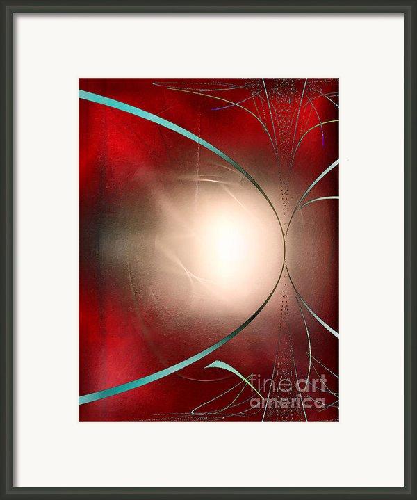 Abstract 550 Framed Print By John Krakora