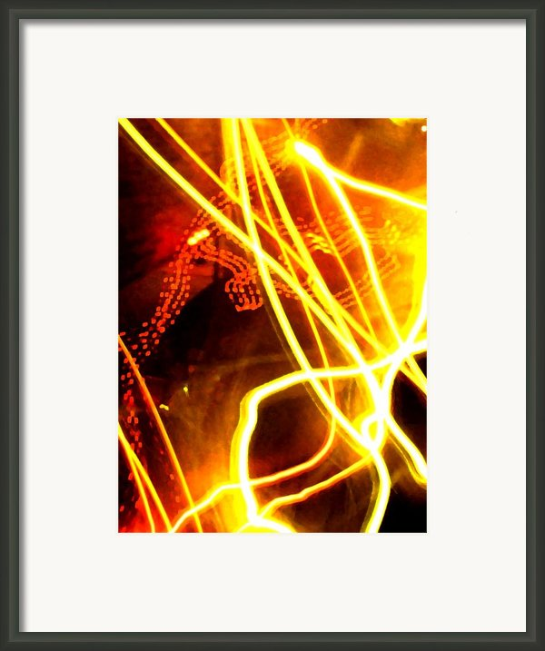 Abstract Framed Print By Amanda Barcon