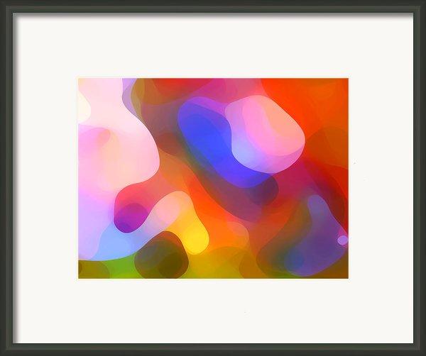 Abstract Dappled Sunlight Framed Print By Amy Vangsgard
