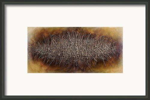 Abstract Design 81 Framed Print By Michael Lang