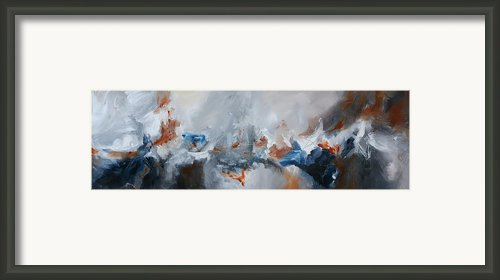 Abstract Expressionist Painting Prints Framed Print By Andrada Anghel