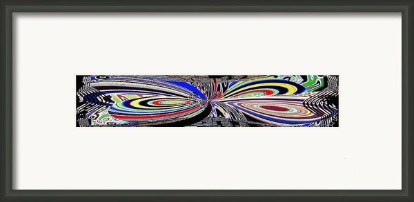 Abstract Fusion 197 Framed Print By Will Borden