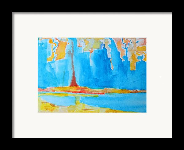 Abstract Ii Framed Print By Patricia Awapara