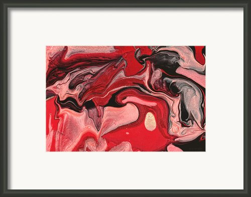 Abstract - Nail Polish - Raspberry Nebula Framed Print By Mike Savad