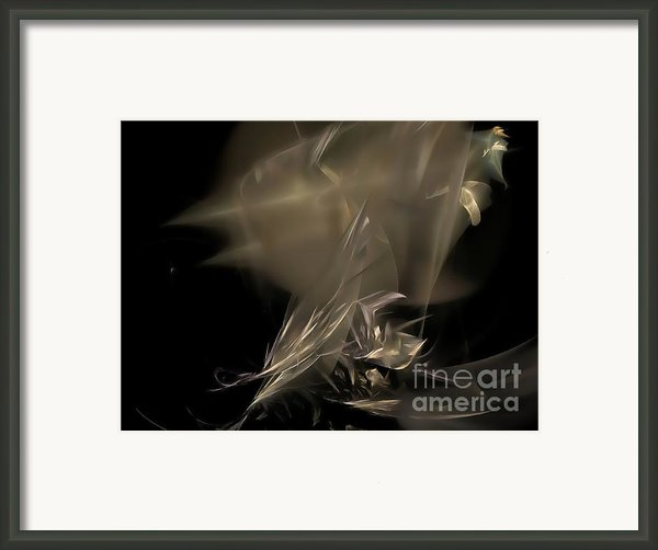 Abstraction 0151 Marucii Framed Print By Marek Lutek - Marucii
