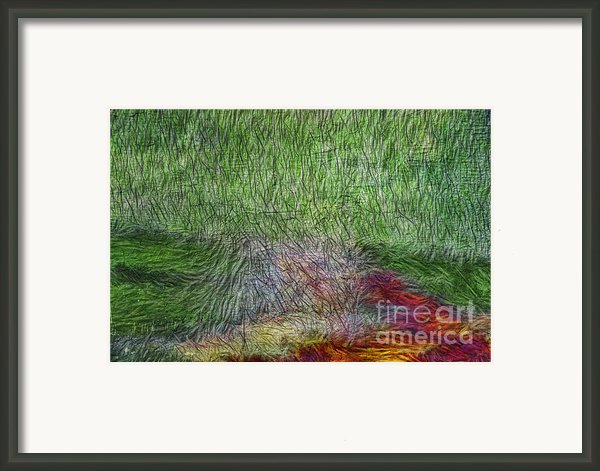 Abstraction Of Life Framed Print By Deborah Benoit