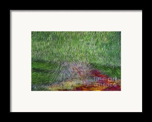 Abstraction Of Life Framed Print By Deborah Benoit