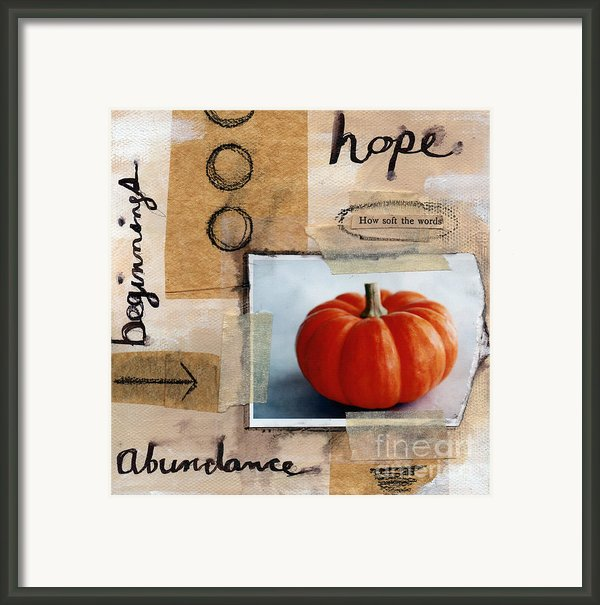 Abundance Framed Print By Linda Woods