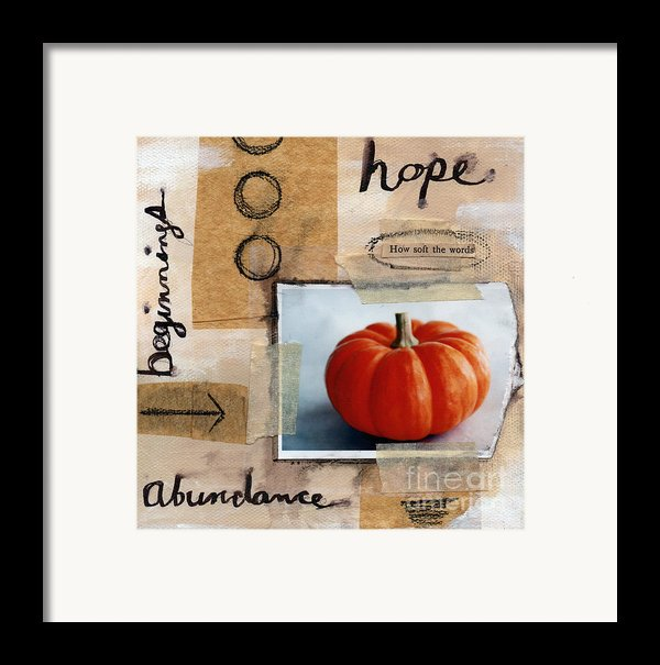 Abundance Framed Print By Linda Woods