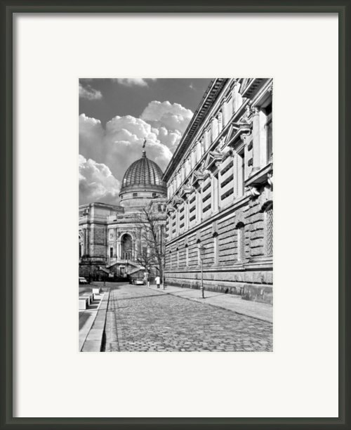Academy Of Arts Dresden Framed Print By Christine Till
