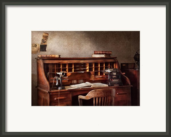 Accountant - Accounting Firm Framed Print By Mike Savad