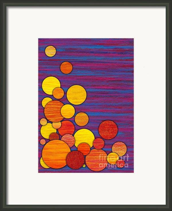 Accumulation Framed Print By David K Small