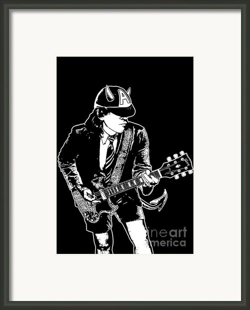 Acdc No.03 Framed Print By Caio Caldas