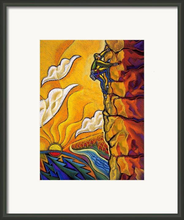 Achievement Framed Print By Leon Zernitsky