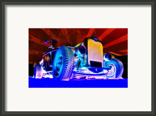 Acid Ford Hot Rod Framed Print By Phil
