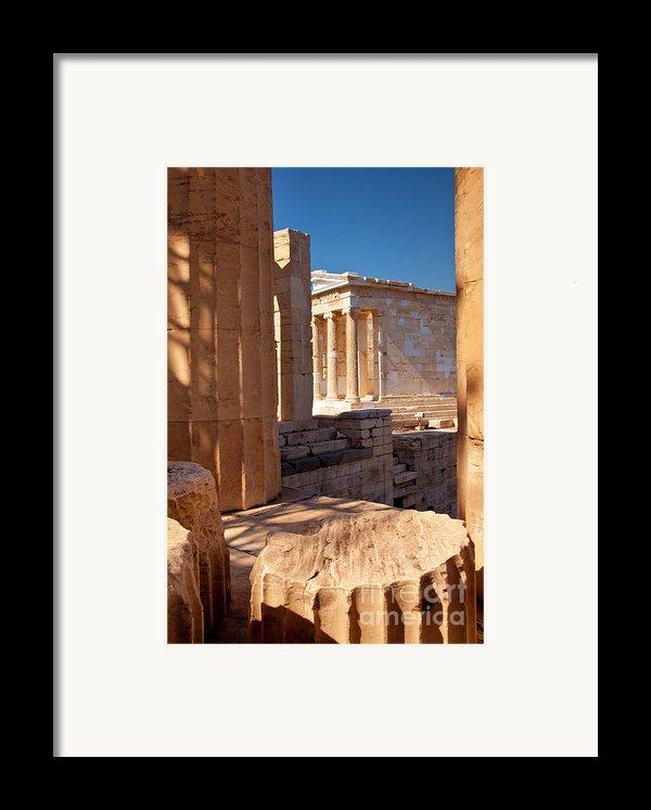 Acropolis Temple Framed Print By Brian Jannsen