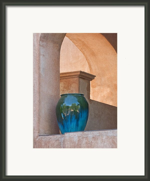 Adobe Stoneware Framed Print By Jeffrey Campbell