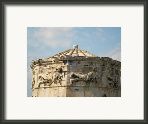 Aerides Framed Print By Greek View