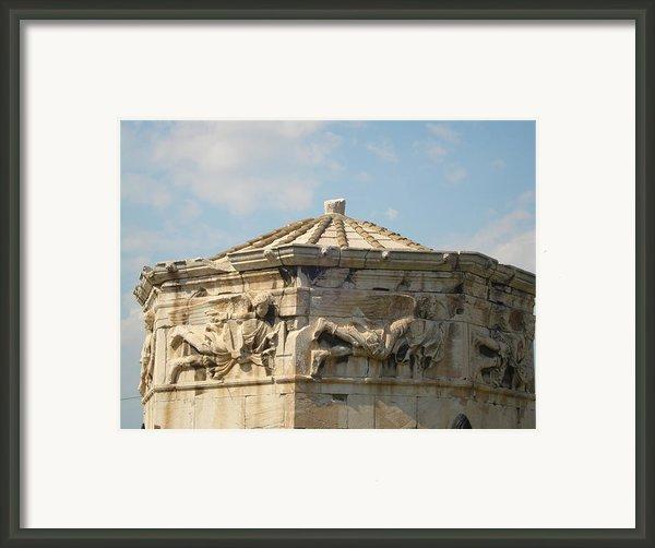 Aerides Framed Print By Greek View