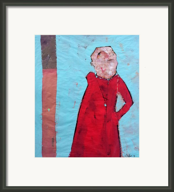 Aetas No 5 Framed Print By Mark M  Mellon