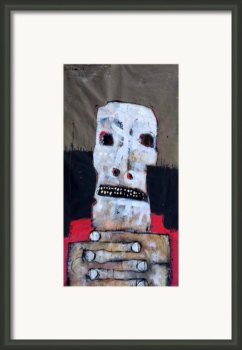 Aetas No 6 Framed Print By Mark M  Mellon