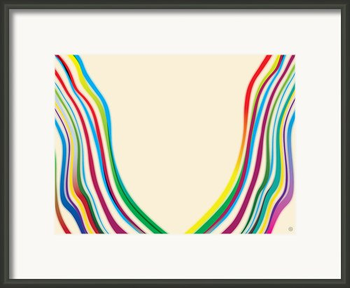 After Morris Louis 2 Framed Print By Gary Grayson