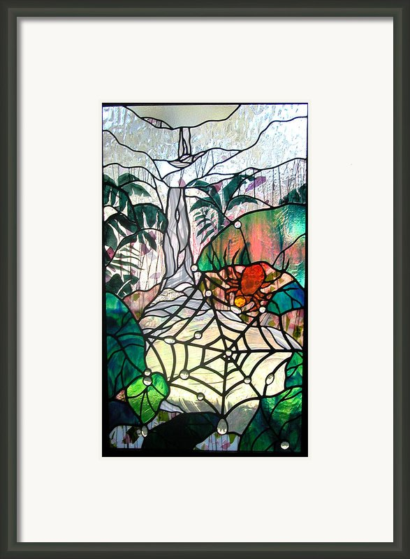 After The Rain Framed Print By Christine Alexander