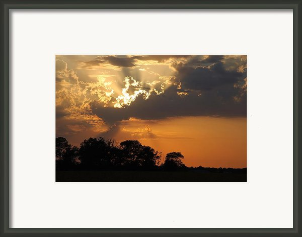 After The Storm Framed Print By Francie Davis