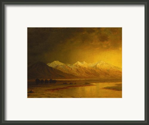 After The Storm Framed Print By Gilbert Davis Munger