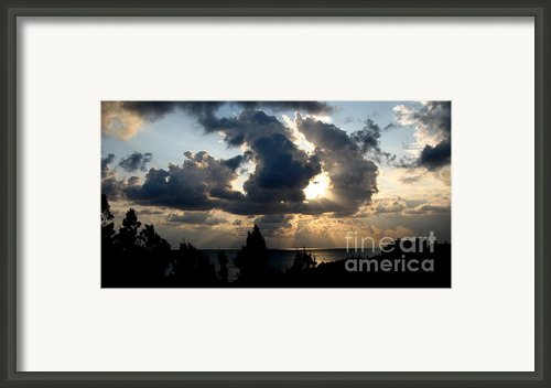 After The Storm Framed Print By John Chatterley