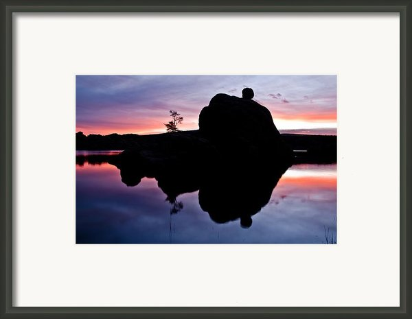 Afterglow Framed Print By Jag Fergus
