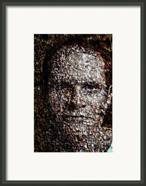 Aggregated Framed Print By Christopher Gaston