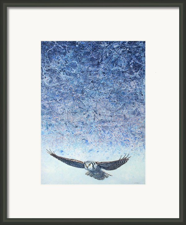 Ahead Of The Storm Framed Print By James W Johnson