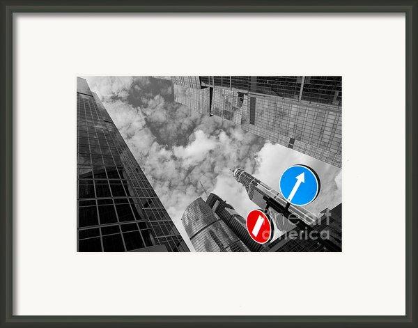 Aim High Framed Print By Maurizio Bacciarini