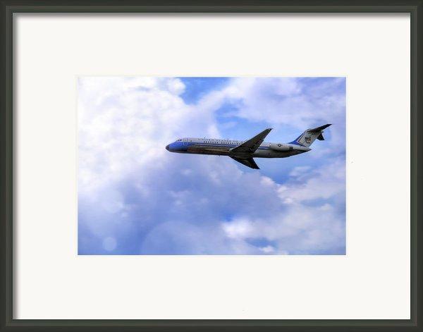 Air Force One - Mcdonnell Douglas - Dc-9 Framed Print By Jason Politte
