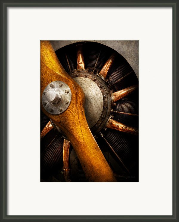 Air - Pilot - You Got Props Framed Print By Mike Savad