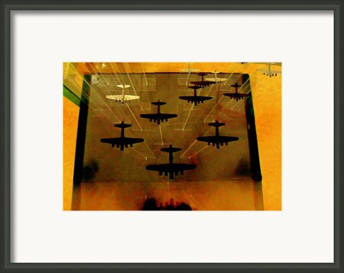 Air War Framed Print By Randall Weidner