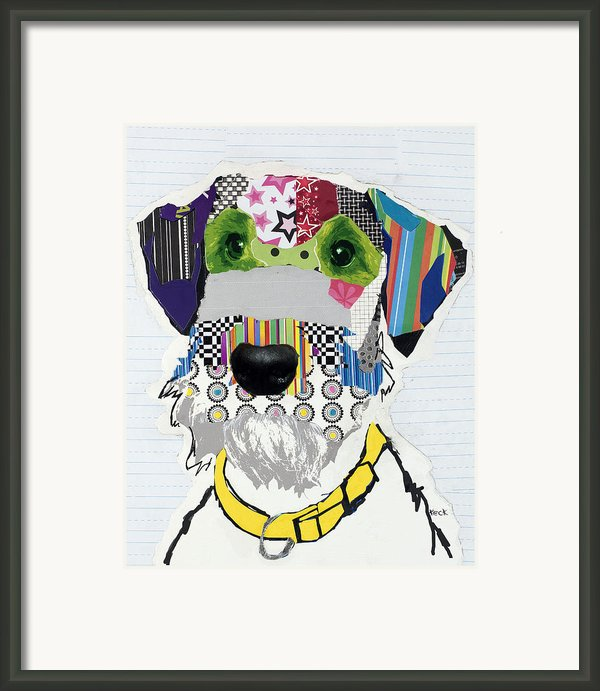 Airedale Terrier Framed Print By Michel  Keck