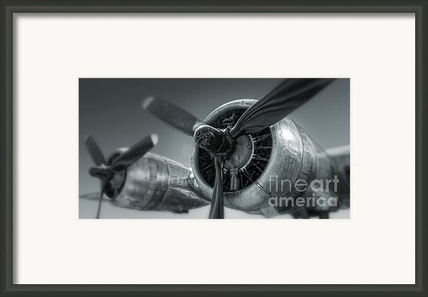 Airplane Propeller - 02 Framed Print By Gregory Dyer