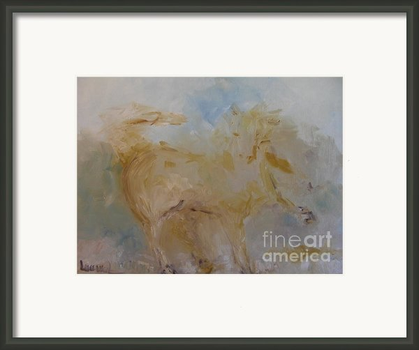 Airwalking Framed Print By Laurie D Lundquist