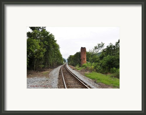 Alabama Tracks Framed Print By Verana Stark