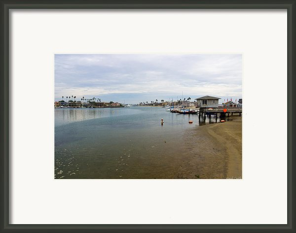 Alamitos Bay Framed Print By Heidi Smith