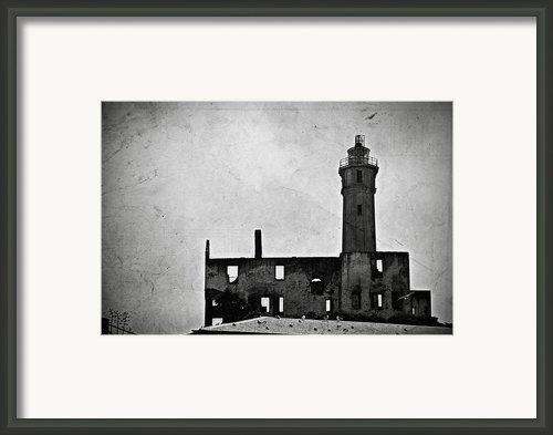 Alcatraz Island Lighthouse Framed Print By Ricardmn Photography