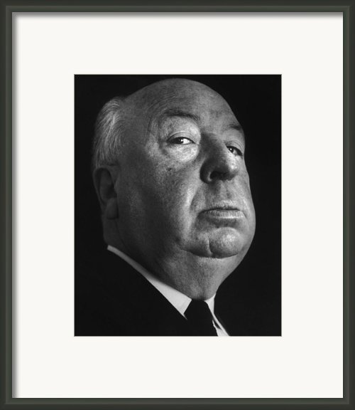 Alfred Hitchcock Framed Print By Studio Photo